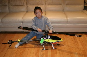 Justin Jee - самый молодой R/C пилот