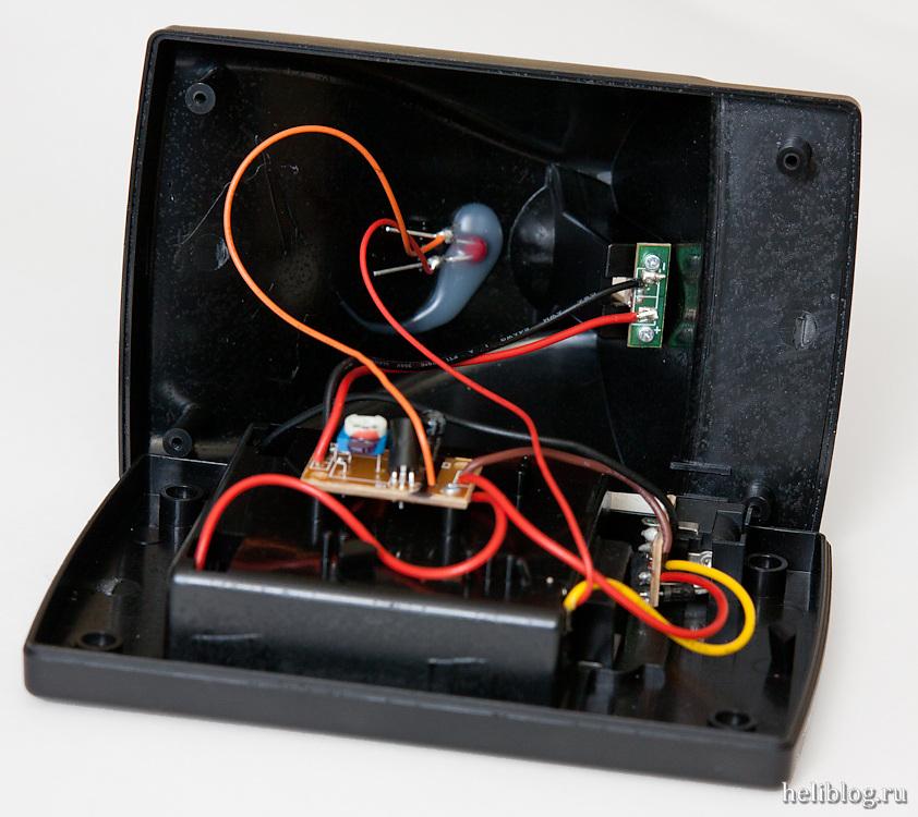 Зарядник от MCX 2 внутри