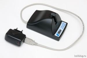 Переделанный под USB зарядник MCX
