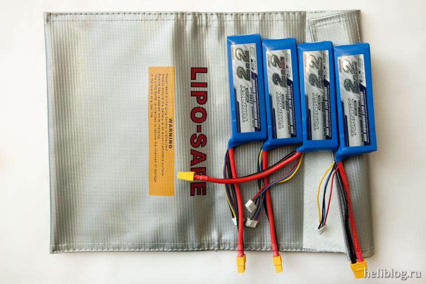 Защитный мешок для зарядки аккумуляторов