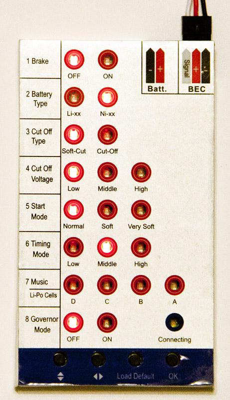 Настройки регуляторов для квадрокоптеров